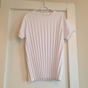 COS accordion shirt